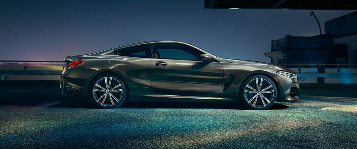 2019 BMW 8 Series header