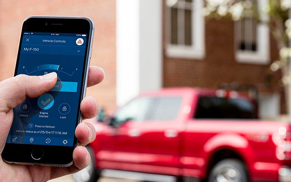 SYNC 3 with FordPass for tracking vehicle location and remotely accessing features