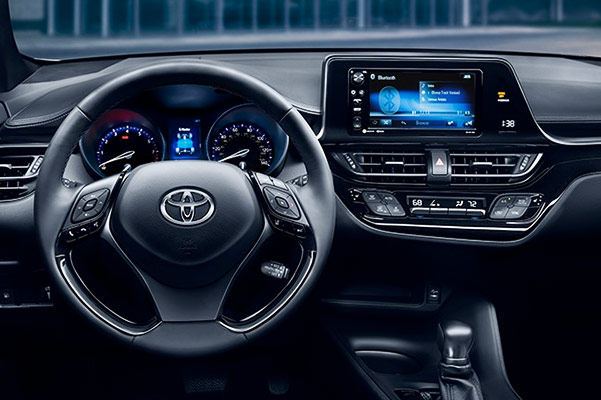 2018 Toyota C-HR Features & Technology