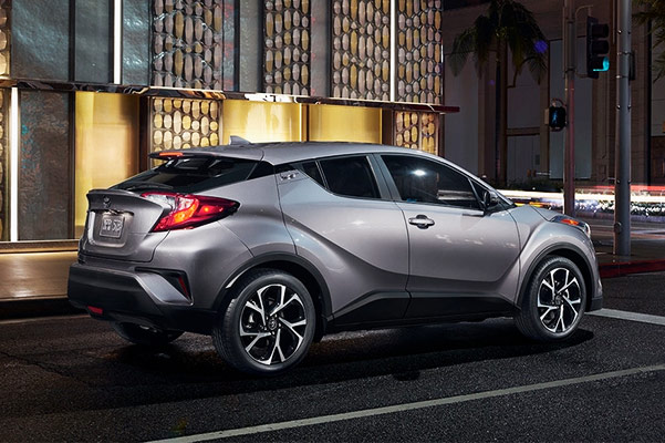 2018 Toyota C-HR Engine Specs & Performance