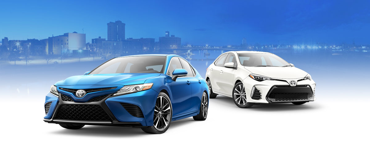Compare the Camry and Corolla Header