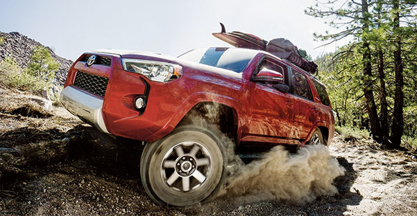 2018 Toyota 4Runner Performance & Capability