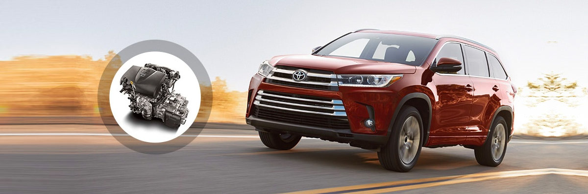 2018 Toyota Highlander Engine Specs