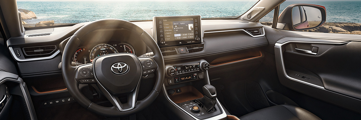 2020 Toyota RAV4 Interior Technology & Safety Systems