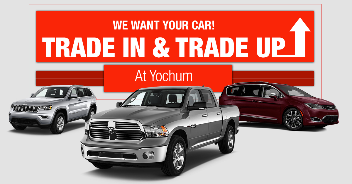 value your trade at yochum cdjr yochum chrysler dodge jeep ram fiat. Black Bedroom Furniture Sets. Home Design Ideas