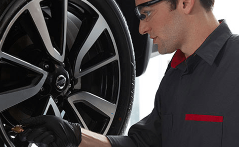 Yark Nissan's Express Service Center : Tire Services