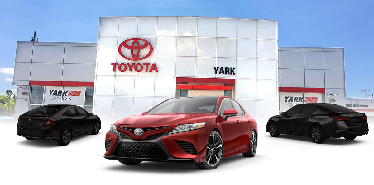 The 2019 Toyota Camry Header