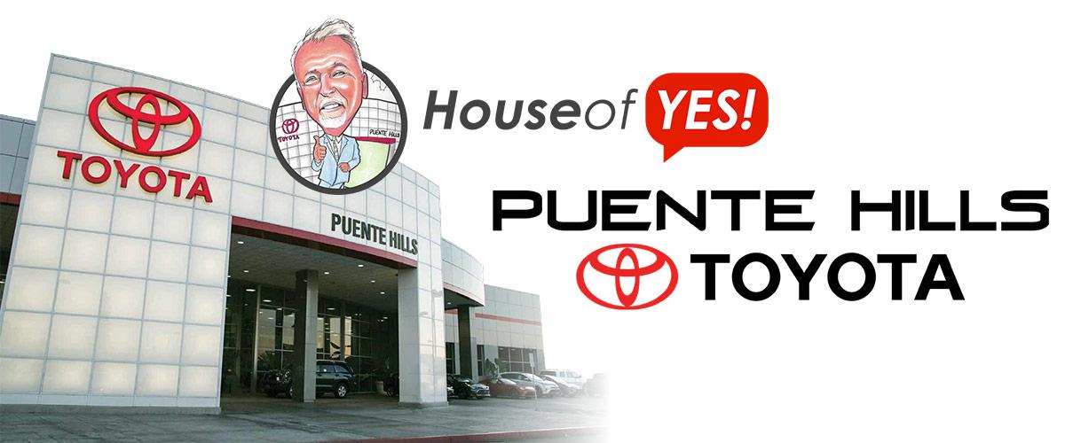 Puente Hills Toyota Core Values! Header