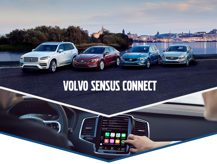 What Is Sensus Connect? | Volvo Infotainment System Technology