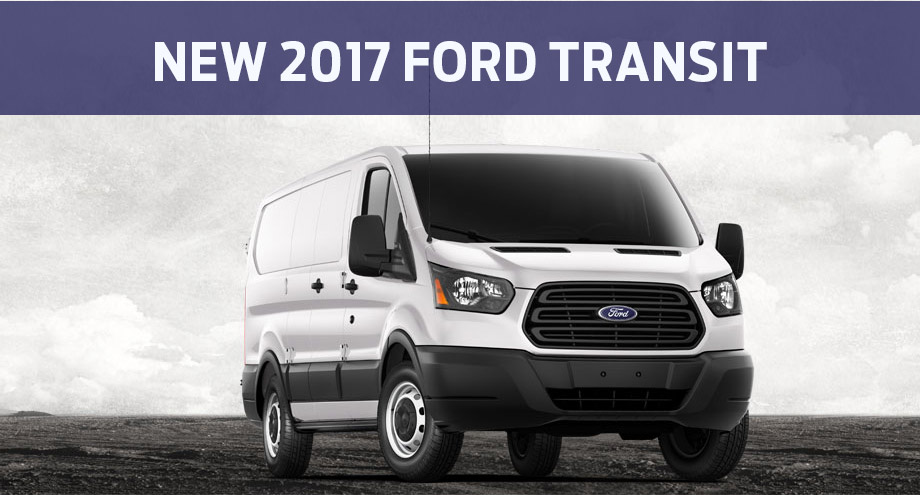 New 2017 Ford Transit