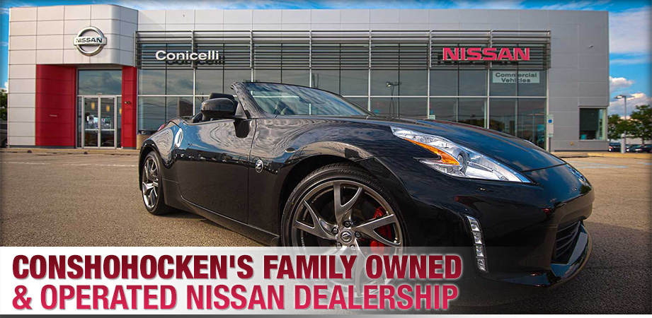 Conicelli Nissan: A Nice Place To Do Business. Dealership