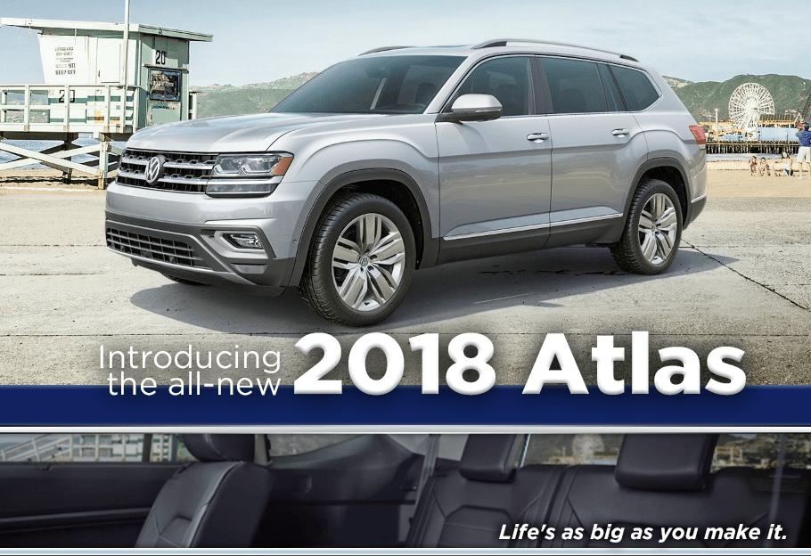 All-New 2018 Volkswagen Atlas | Volkswagen Dealer near Troy, NY