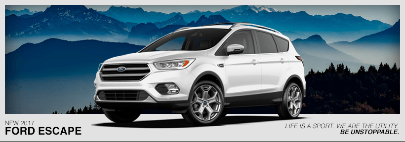 Ford Escape Lease >> Buy Or Lease A 2017 Ford Escape Ford Dealer Near Johnstown Ny