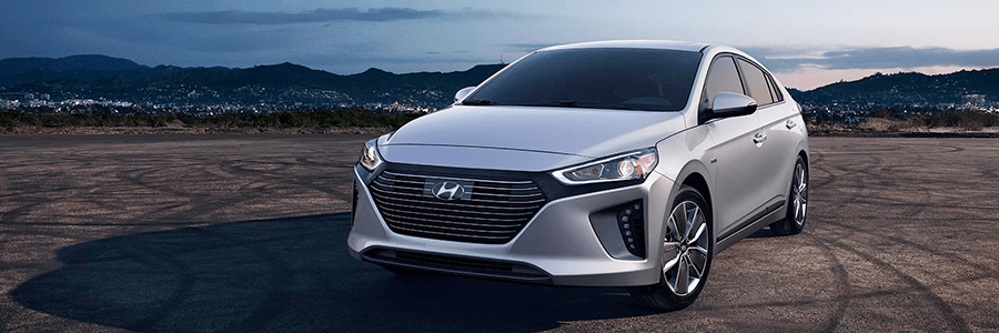 The New Hyundai Ioniq.