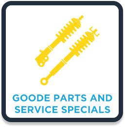 Goode Parts and Service Specials