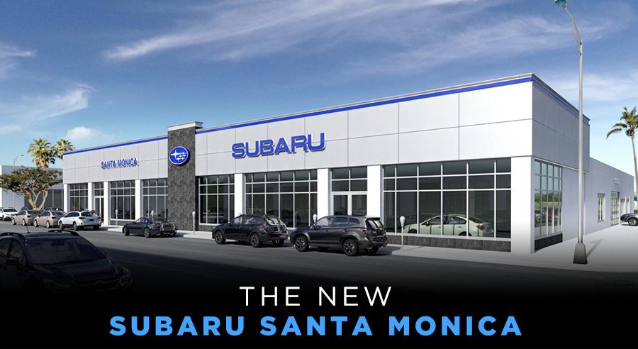 The New Subaru Santa Monica