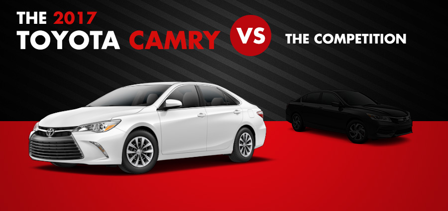 2017 toyota camry vs the competition