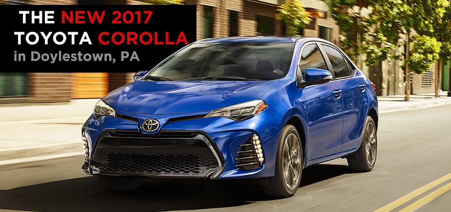 The 2017 Toyota Corolla