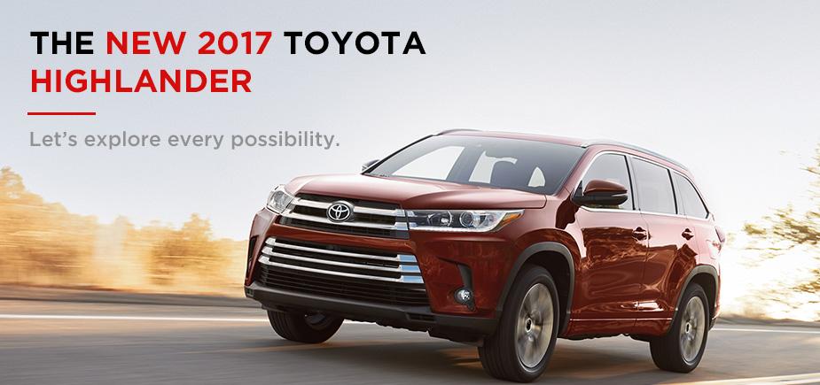 The New 2017 Toyota Highlander