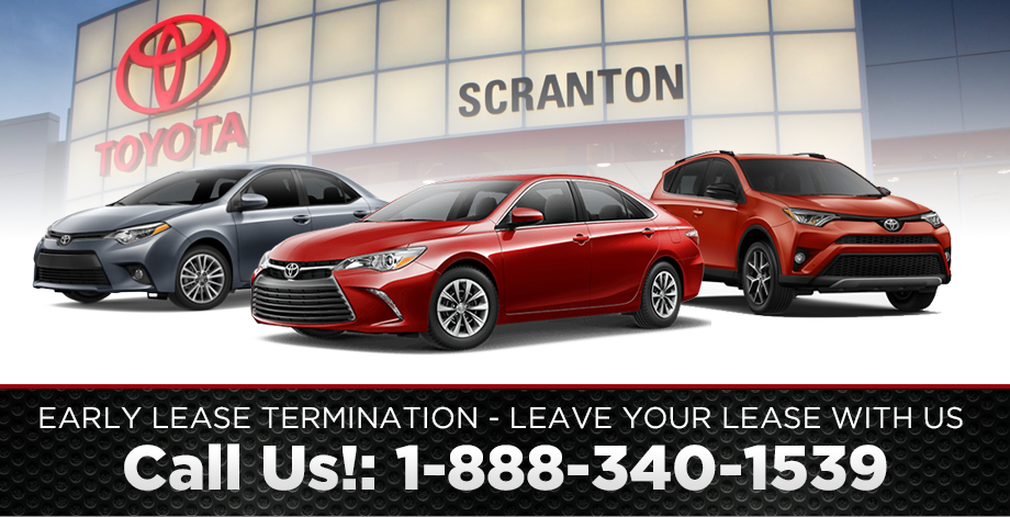 Early Lease Termination At Our Toyota Dealership In Scranton, PA