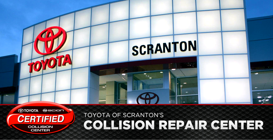 High Quality Car Repairs At The Toyota Of Scranton Certified Collision Center