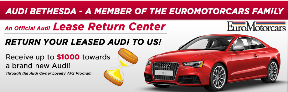 Audi Lease Returns Audi Leases Near Washington DC - Audi leases