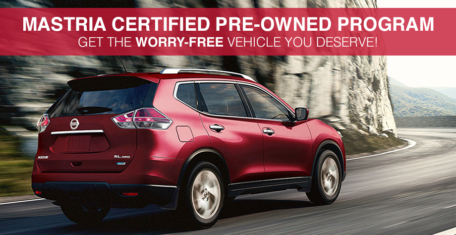 Buy A Mastria Certified Pre Owned Nissan Near New Bedford, MA