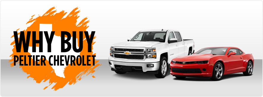 Why Buy Peltier Chevrolet