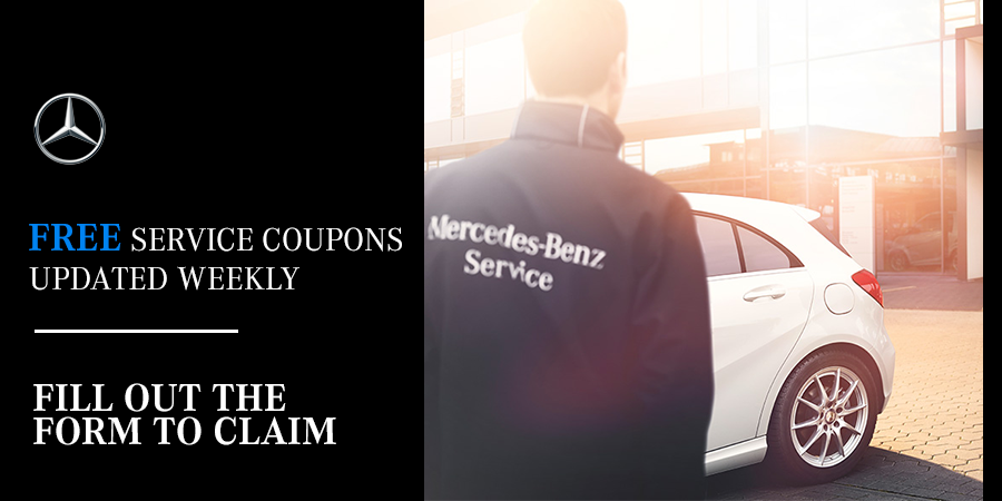 Service specials mercedes benz oil change service for Mercedes benz service b coupons