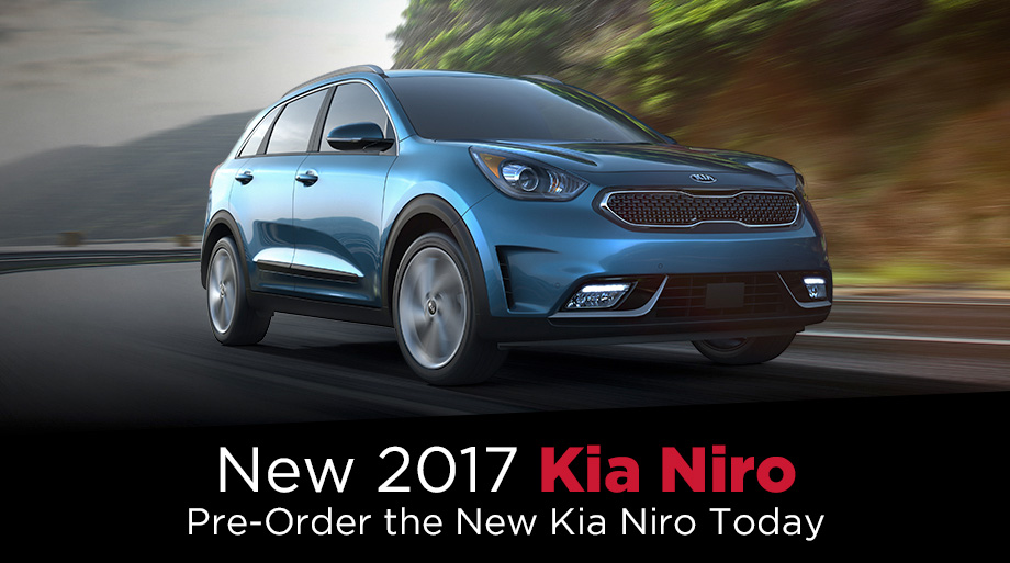 New 2017 Kia Niro For Sale In Findlay, OH