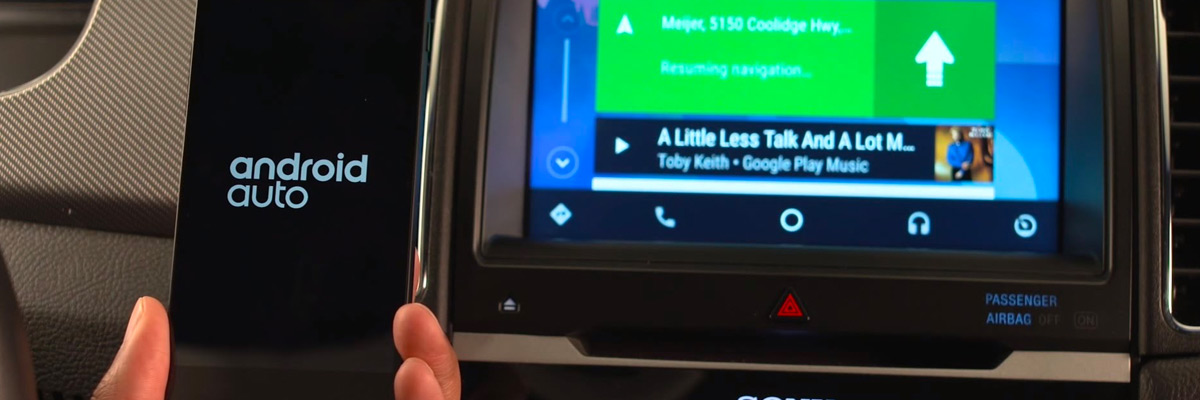 How to Set Up Android Auto™ in Your Ford