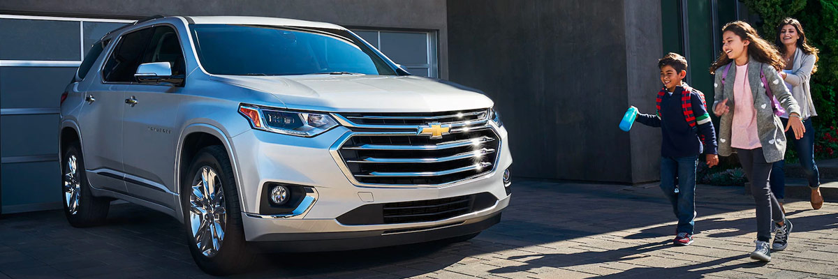 Compare the 2018 Chevrolet Traverse