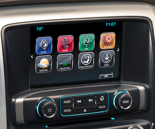 2018 Chevrolet Silverado Interior