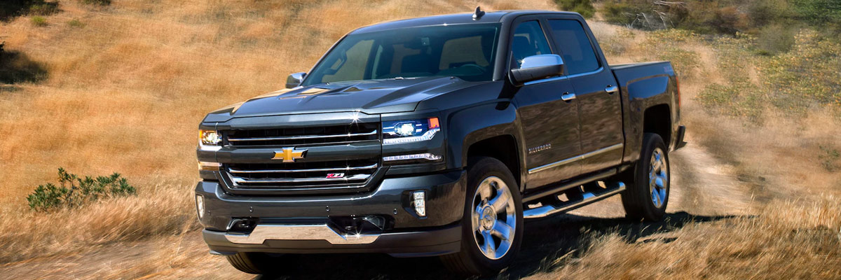 Compare the 2018 Chevrolet Silverado 1500