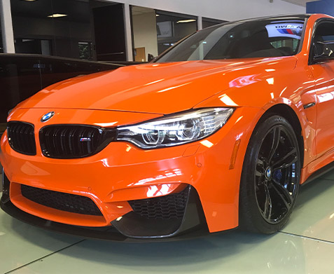 2016 BMW M4 in Fire Orange