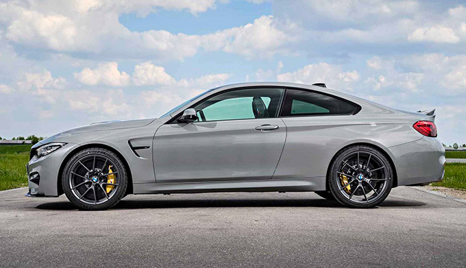 2019 BMW M4CS in limited Lime Rock Grey