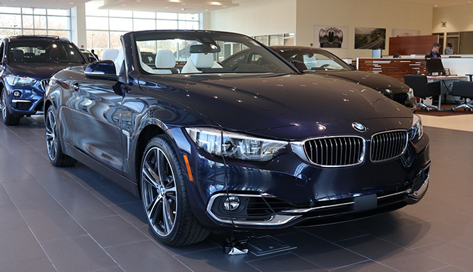 2019 BMW 440i xDrive 'Luxury Line' Individual Convertible Exterior