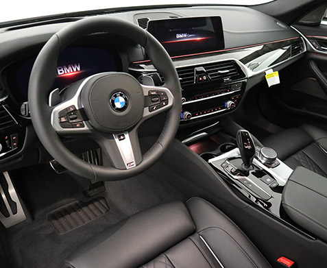2019 BMW 540i xDrive 'M' Sport Interior
