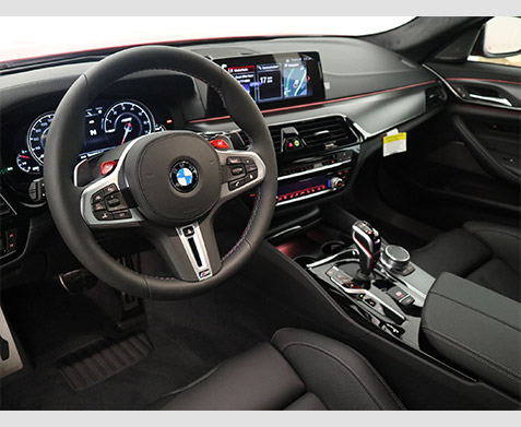 2019 BMW M5 Competition Interior