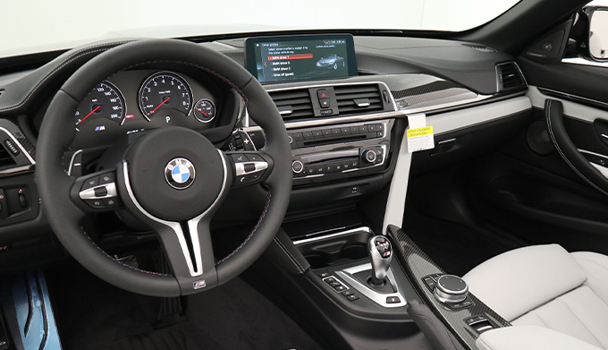 2020 BMW M4 Convertible Interior