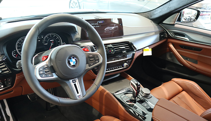 2019 M5 Competition Interior
