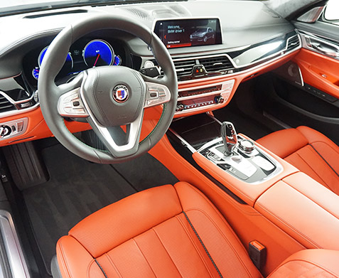 2019 BMW ALPINA B7 Interior