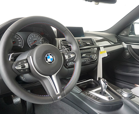 2019 BMW M4 Competition Interior