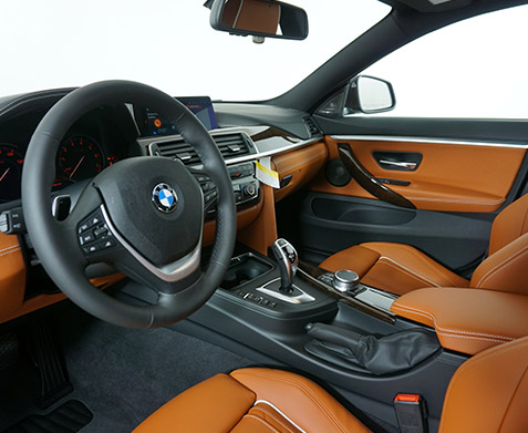 2019 BMW 440i xDrive 'Luxury Line' Gran Coupe Interior