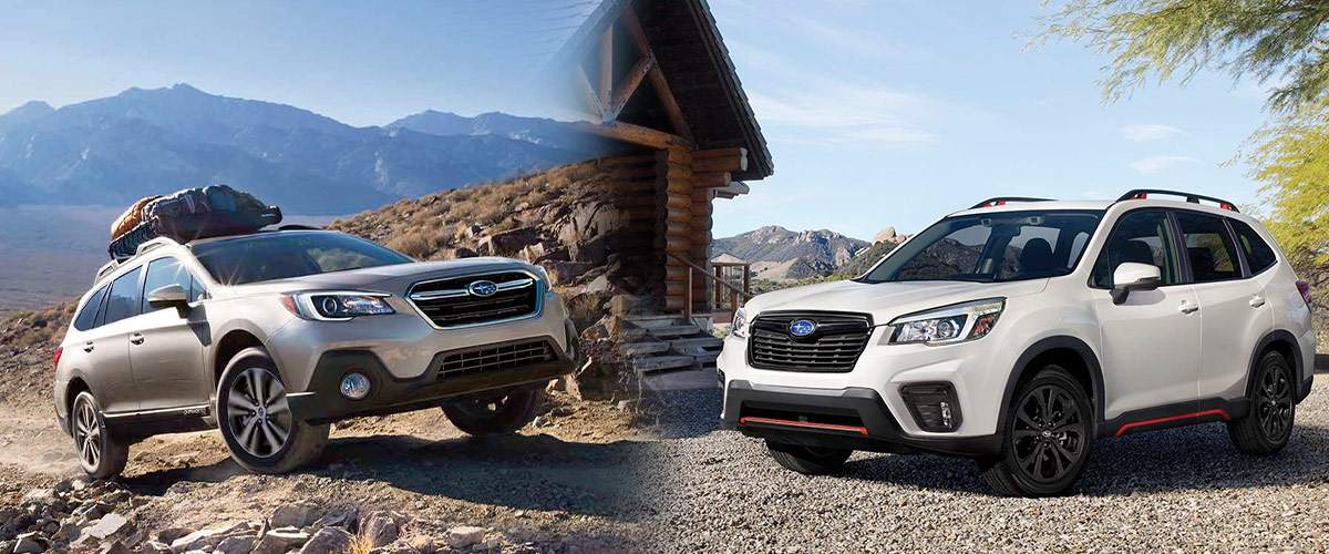 Forester Vs Outback >> Subaru Outback Vs Subaru Forester Subaru Dealer Near